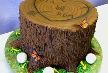 Golf Themed cakes