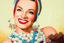 Smalt.Paris - Inspirations Carmen Miranda