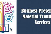 Business Material Translation