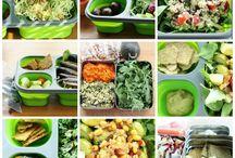 Vegan lunch & snacks