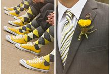 Colour schemes - Yellow / Inspiration board for yellow weddings