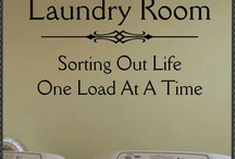 Laundry Room Ideas / Let's get organized in the Laundry Room