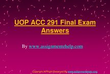 UOP ACC 291