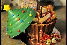 chocolate smash cakes