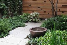 Courtyards and landscaping