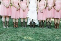 Bridal Parties / Our stylish bridal parties, photographed by Dawn Kelly Photography.  Get great inspiration for attire and accessories.