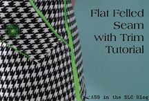 Sewing tips, tutorials and how to's. / Advice about sewing techniques and how to make garments with a professional look. / by Judie Roberts