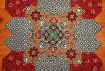 Quilt - Potc - Patchwork of the crosses (EPP)