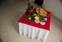 DESAYUNO TIPICO EN EL HOTEL CASA PABLO / desayuno típicos en el hotel Casa Pablo , en la ciudad de Neiva .