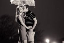 In Case of Rain | Engagement Session Ideas / Rainy day magic!