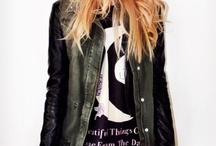 TJ's punk rock Style Inspiration  / Anything cool, dark, grunge, studded, or oversized... / by The Nearly Deads
