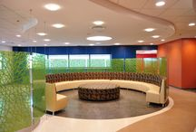 Zandur Flooring Design / Endless Design possibilities made possible with Zandur's sustainable flooring options.