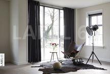 Gordijnen / Een traditioneel gordijn geeft de finishing touch aan uw nieuwe interieur! Kies voor een mooie overgordijnstof zodat er gefilterd daglicht binnenkomt!