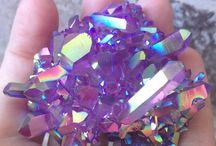 quartz, crystals and gems