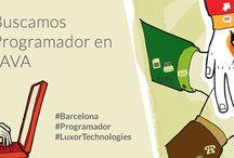 Trabajo / Buscamos #Programador en #JAVA para trabajar en #Barcelona