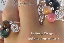 Bella Noelle Stackable Gemstone Rings / So many rings ... Infinite possibilities!