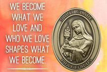 St. Clare of Assisi / 0