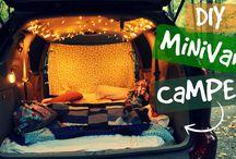 Camp in car