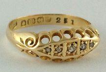 Antique & Vintage Rings / Antique Rings - Vintage Rings - Edwardian Rings - Victorian Rings