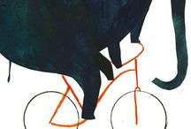 Bicycles & Bikes (illustrations)