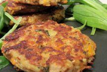 BOULETTES/NUGGETS/QUENELLES. / Croquettes,farcis ,pain de viandes,viandes,poissons ou légumes hachés.