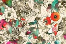 Floral Print | Mixed Colours / Floral Print | Mixed Colours
