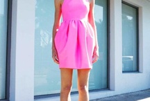 Playing dress up {shades of pink}