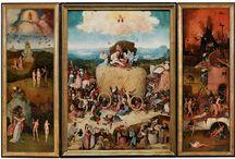 Hieronymus Bosch- The Haywain