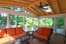 outdoor extension / outdoor extension roof