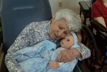 """Believable Babies Helping Seniors with Alzheimer's / Believable Babies is a collection of baby dolls appropriate for people with moderate to severe Alzheimer's disease or dementia. They can be purchased at believeablebabies.com   OR   memorablepets.com  """"As Alzheimer's disease progresses the need to nurture, love and be loved increases. It is one of the last emotions to go.""""  American Association of Geriatric Psychiatrists AAGP, 2012 Conference in Washington DC"""