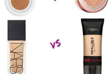 Makeup Dupes / Cheaper, but similar drug store products to high end products.