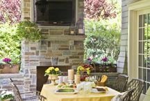 patio and deck / by Kathy Carlson