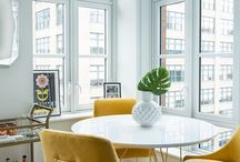 Interior / Heating Inspiration - Yellow / Yellow colour inspiration for your Funkyheat heater. We can produce your heater in any RAL colour, allowing you to customise your heater to compliment any interior space.