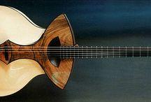 Guitar / Guitar handmade and unique forms
