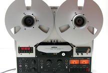 REVOX / Vintage Stereo Hi-Fi Reel-to-Reel Tape Recorders
