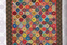 millifiori quilts by Willyne Hammerstein