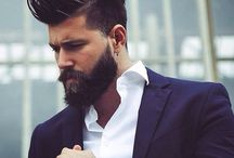 Men's Pompadour / The Pompadour can be done with a number of hair lengths –  it is either long or short on top