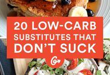 Carb substitutes