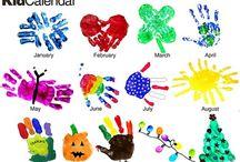 hand-en voet afdrukken / by jenny van losser