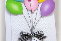 Cards - Balloons / by Frances Byrne