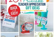 DIY - Teacher Appreciation Week Ideas and Gifts {Best of Pinterest} / The BEST DIY Gift and Party Ideas to show how much we appreciate our Kids' TEACHERS!  Gift Card Holders, Paper Crafts, Recipes to give sweet treats and goodies, Gift Bundle and Basket Ideas, Clever and Cute do it yourself packaging, handmade gift wrap and Plenty of FUN PUNS to go around!