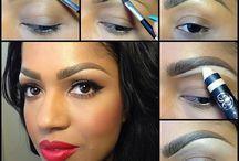 Dark Skin / Make Up tutorial Foundation for dark skin Brown Black Match I love it