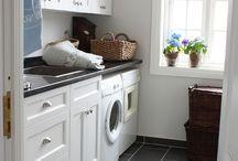 Interior design - laundry / mud room