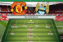 My teams / Teams for the actual game of the reds