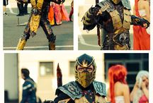 My Mortal Kombat cosplays / #MortalKombat #Cosplay #Scorpion #SubZero