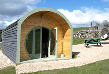 Gorgeous Glamping / gorgeous glamping pods at Hoe Grange Holidays in the Derbyshire Peak District