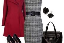 Winter Fashion Inspiration / A mood board of ideas for a winter capsule wardrobe.