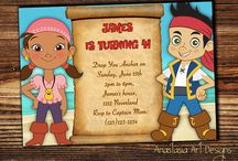 Jake and the Never Land Pirates Invitations