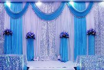 Blue Wedding Decor & Ideas
