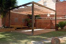 Pérgolas madera / Pérgolas de madera , terraza, jardín,madera, decoración, diseño, Barcelona, Castelldefels, Gava, Sant Cugat, Alella